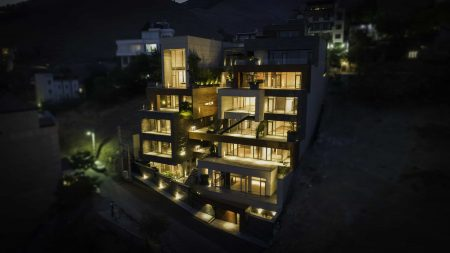 Truk Mazrae Residential Complex by Mergen Architects