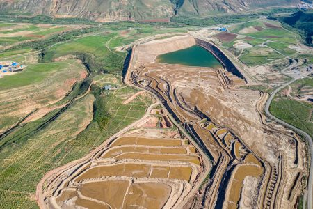 Agh Darre Gold Mine aerial Photo by Parham Raoufi