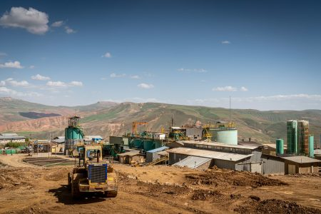 Agh Darreh Gold Mine Photography by Parham Raoufi